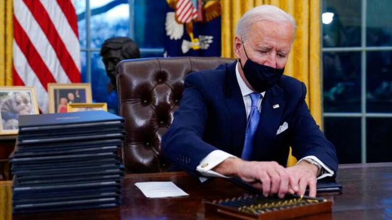 Biden unwinds Trump's destructive social and environmental policies
